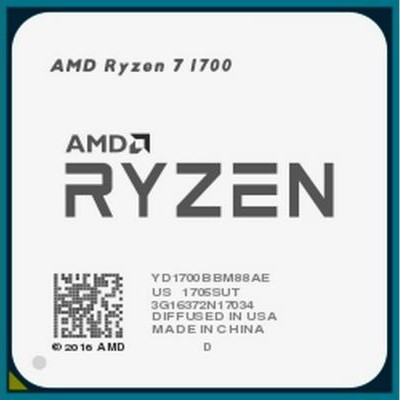 Процессор (CPU) AMD Ryzen 7 1700 3.0GHz OEM