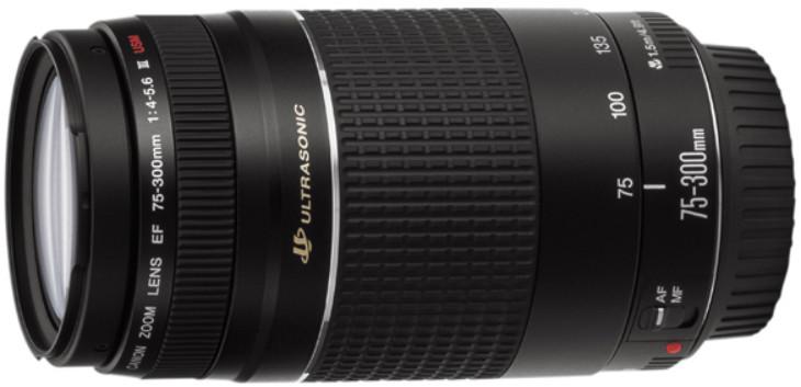 Объектив Canon EF 75-300mm f/4.0-5.6 III USM Black