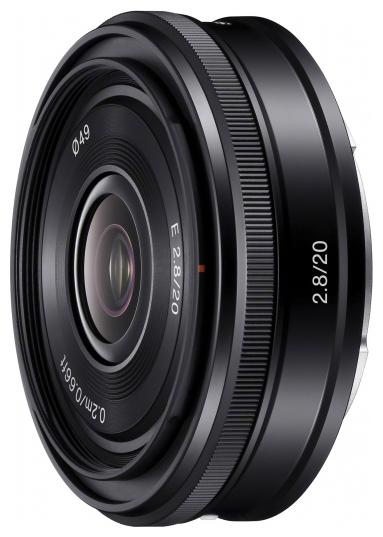 Объектив Sony E 20mm f/2.8 Black