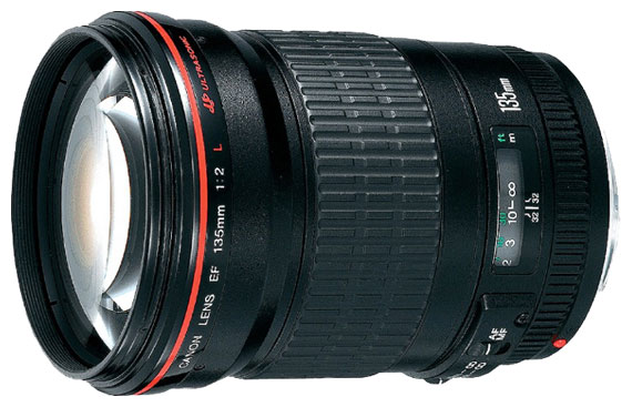 Объектив Canon EF 135mm f/2.0 L USM Black