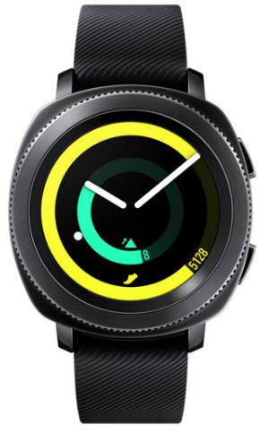 Умные часы Samsung Gear Sport 45mm Black