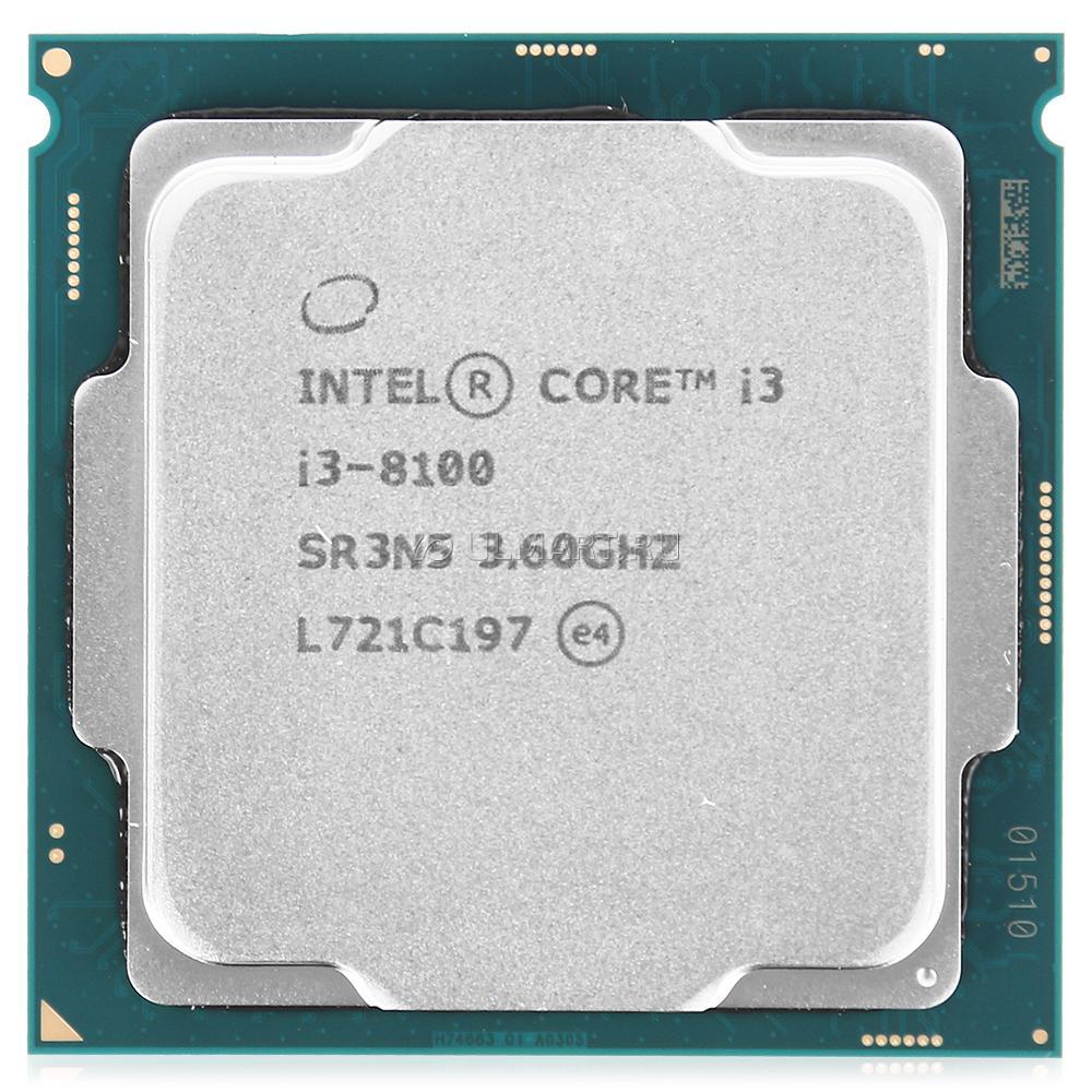 Процессор (CPU) Intel Core i3-8100 3.6G…