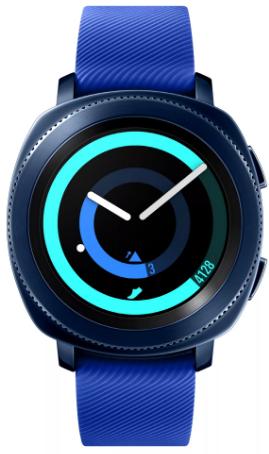 Умные часы Samsung Gear Sport 45mm Dark…
