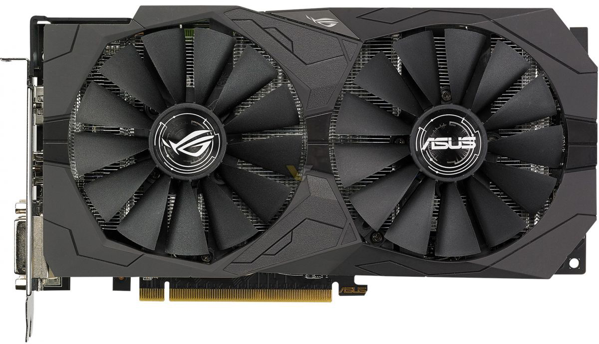 Видеокарта Asus Radeon RX 570 ROG Strix OC 4Gb