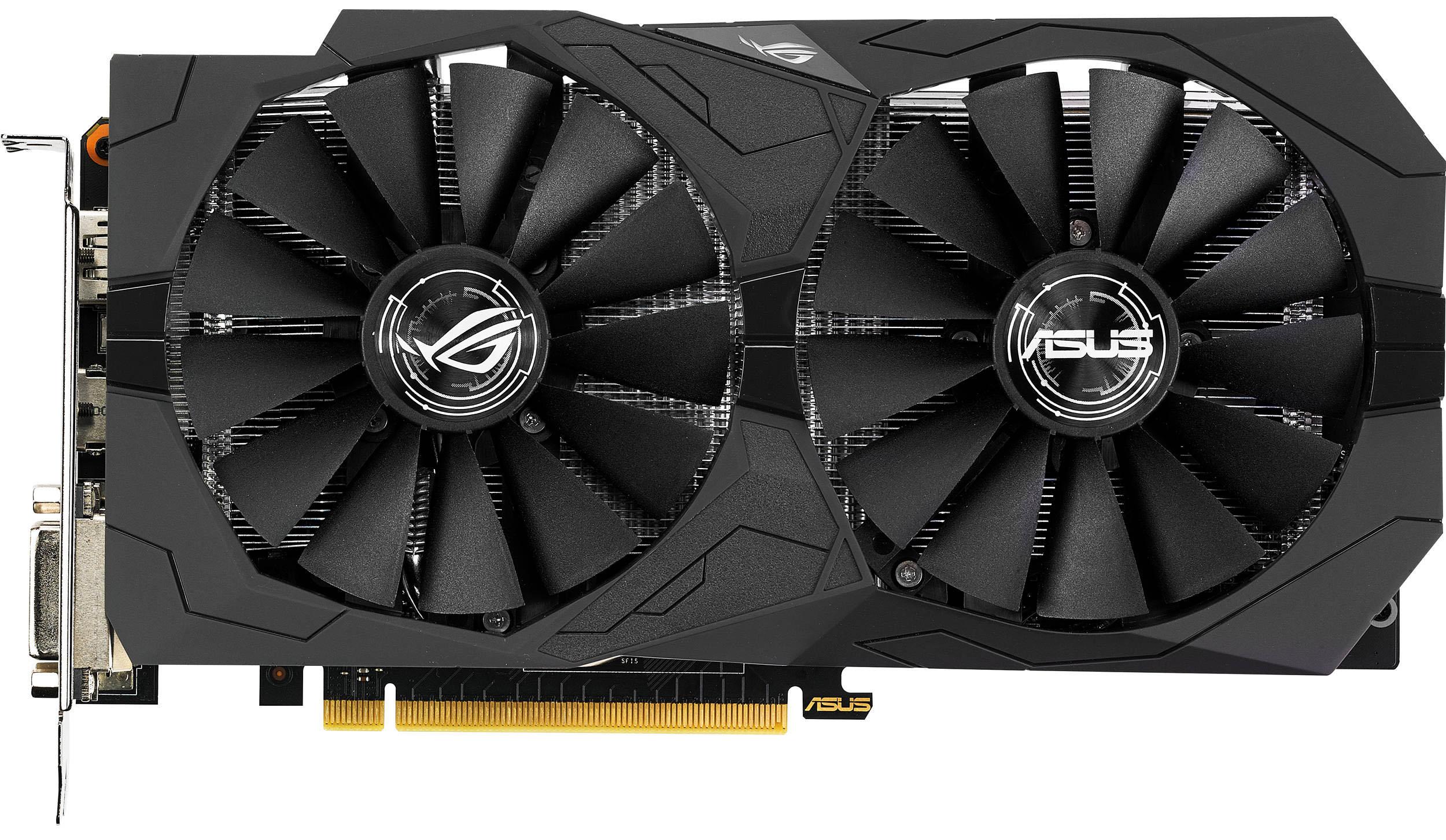 Видеокарта Asus GeForce GTX 1050 Ti ROG…