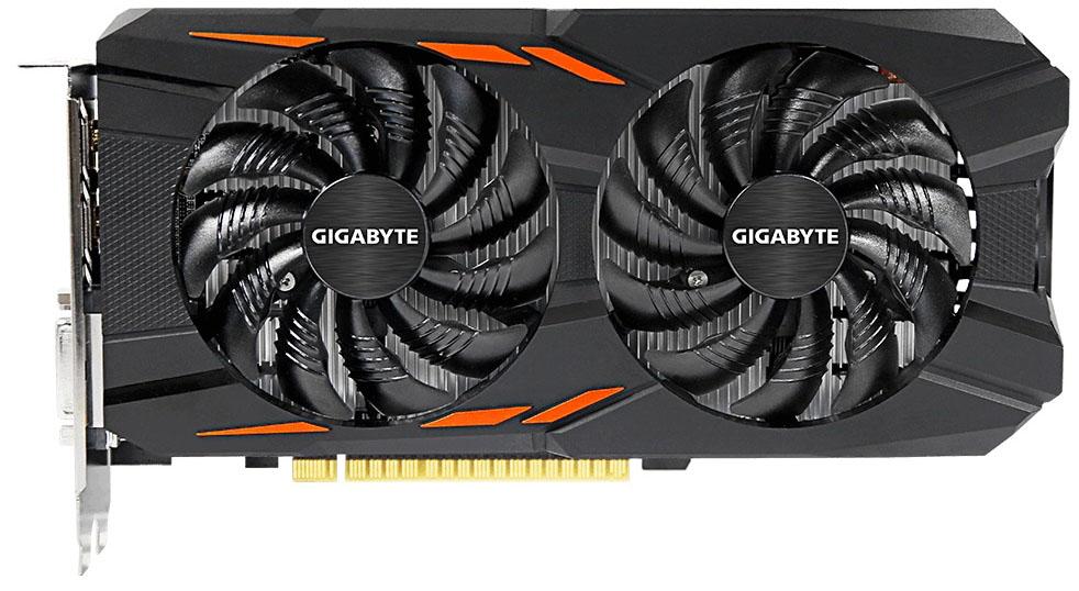 Видеокарта Gigabyte GeForce GTX 1050 Windforce OC 2Gb