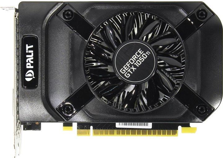 Видеокарта Palit GeForce GTX 1050 Ti StormX 4Gb Retail