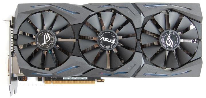 Видеокарта Asus GeForce GTX 1070 ROG St…