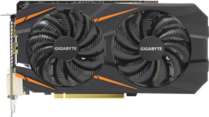 Видеокарта Gigabyte GeForce GTX 1060 Windforce OC 6Gb