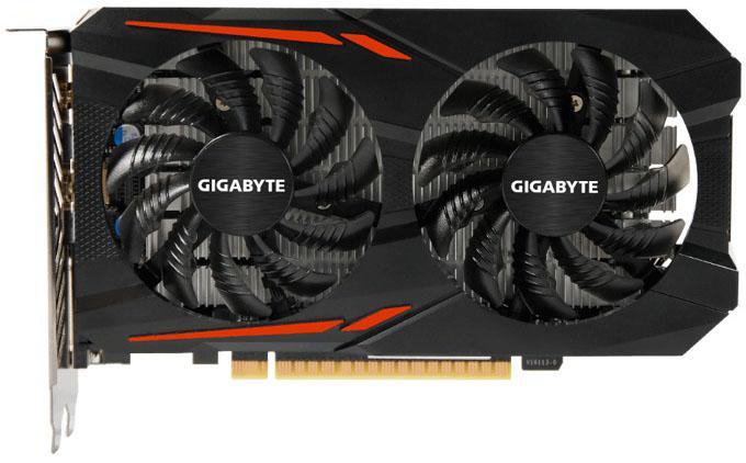 Видеокарта Gigabyte GeForce GTX 1050 OC 2Gb