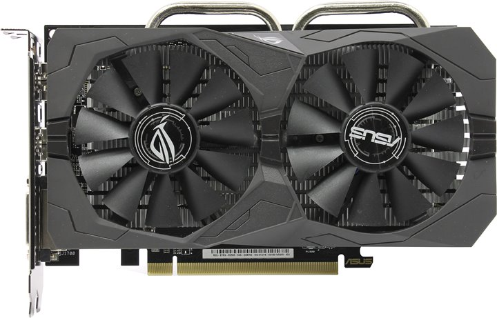 Видеокарта Asus Radeon RX 560 ROG Strix OC 4Gb