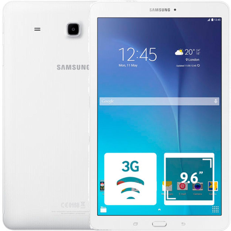 """Планшет Samsung Galaxy Tab E 9.6"""" 3G 1.5Gb 8Gb White"""