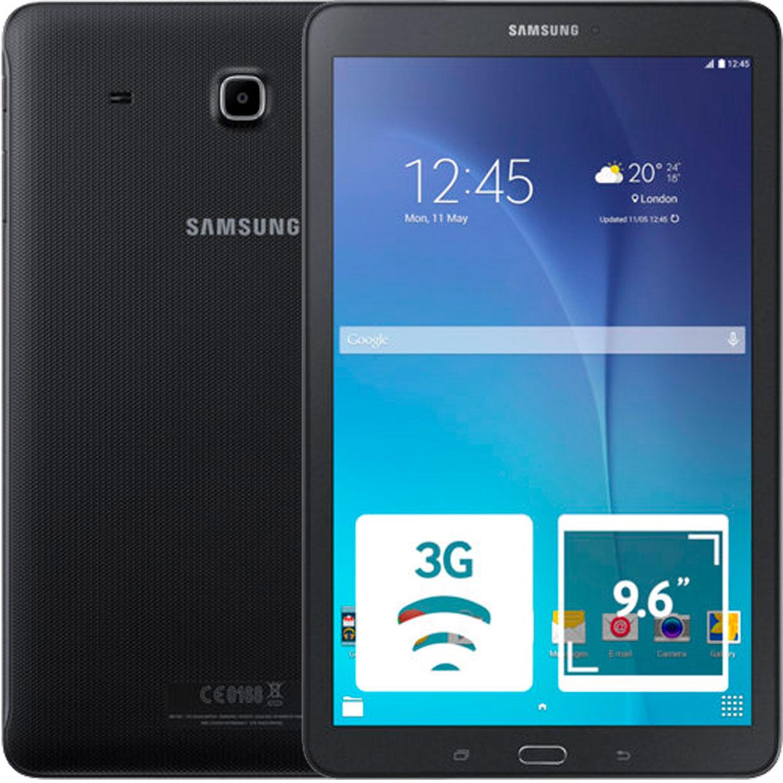 "Планшет Samsung Galaxy Tab E 9.6"" 3G 1.5Gb 8Gb Black"