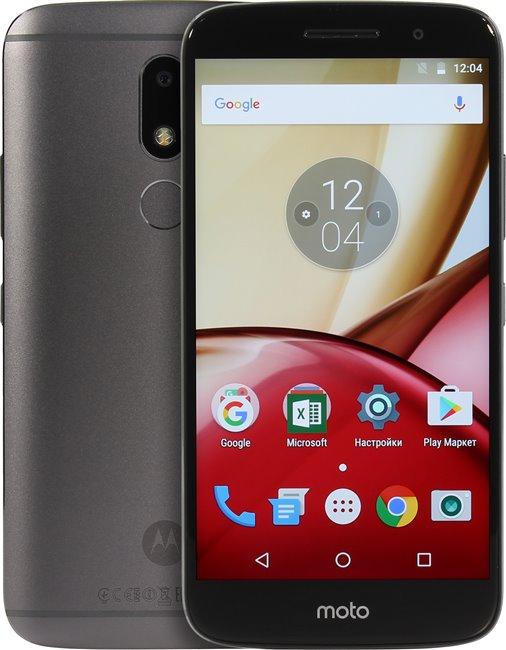 Смартфон Motorola Moto M LTE 3Gb 32Gb Grey