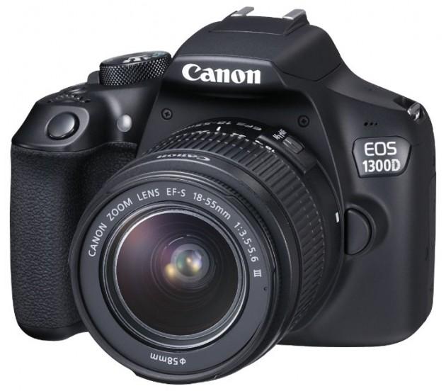 Canon EOS 1300D Kit EF-S 18-55m...