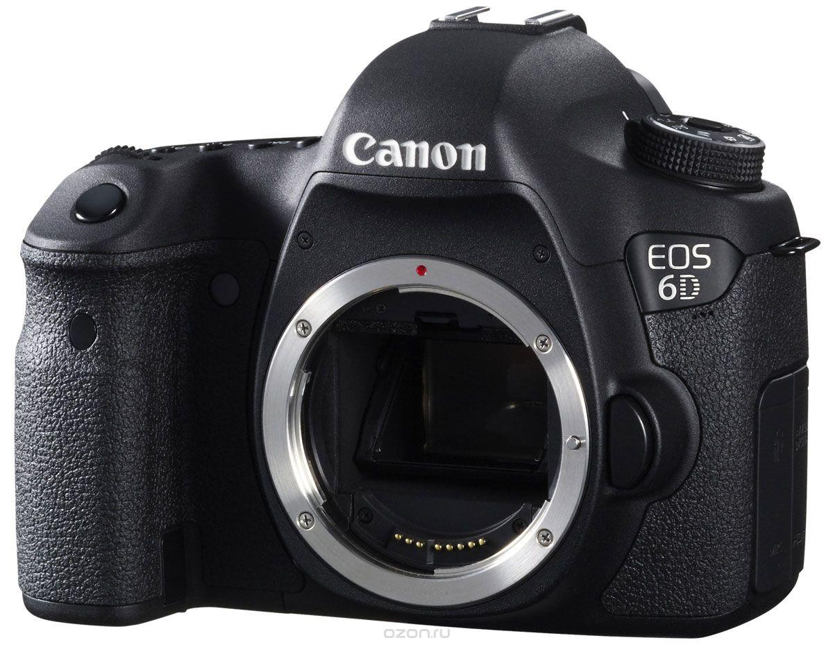 Фотоаппарат Canon EOS 6D Body Black
