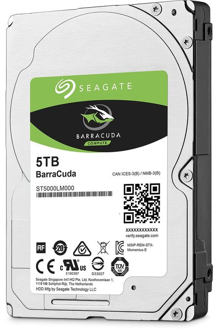 Жесткий диск Seagate BarraCuda 5Tb/HDD/…