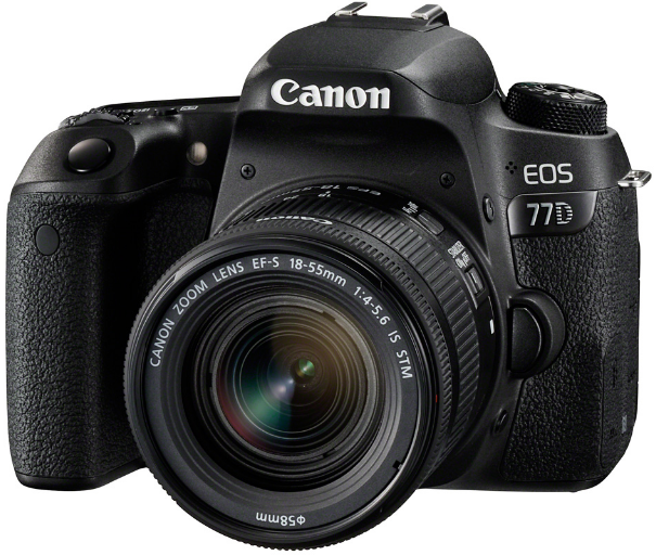 Фотоаппарат Canon EOS 77D Kit EF-S 18-55mm IS STM Black