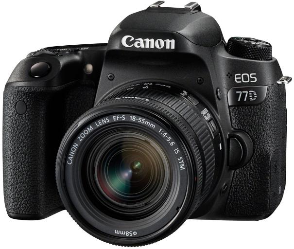 Фотоаппарат Canon EOS 77D Kit EF-S 18-5…