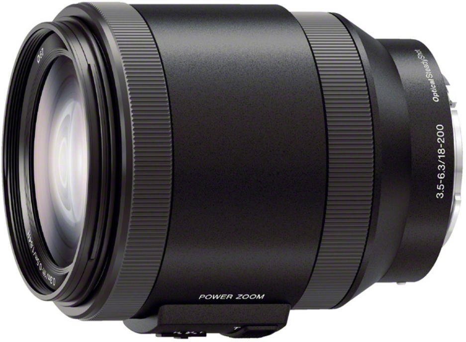 Объектив Sony E 18-200mm f/3.5-6.3 PZ OSS Black