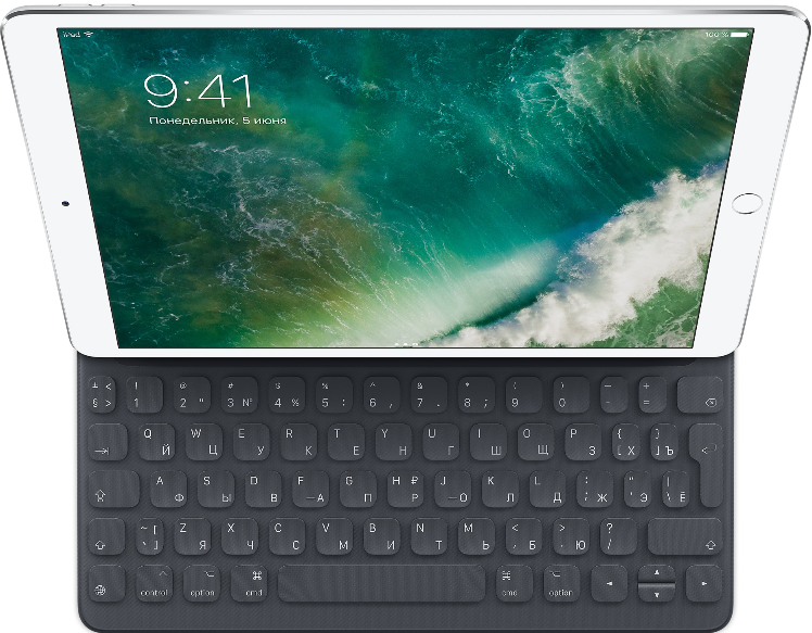 "Apple Smart Keyboard RU 10,5"" Grey"
