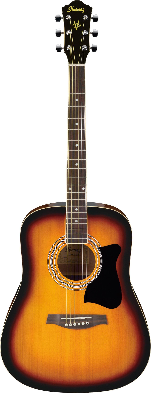 Акустическая гитара Ibanez V50NJP Vintage Sunburst