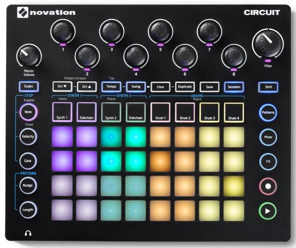 Грувбокс Novation Circuit