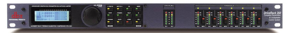 Системный контроллер DBX DriveRack 260