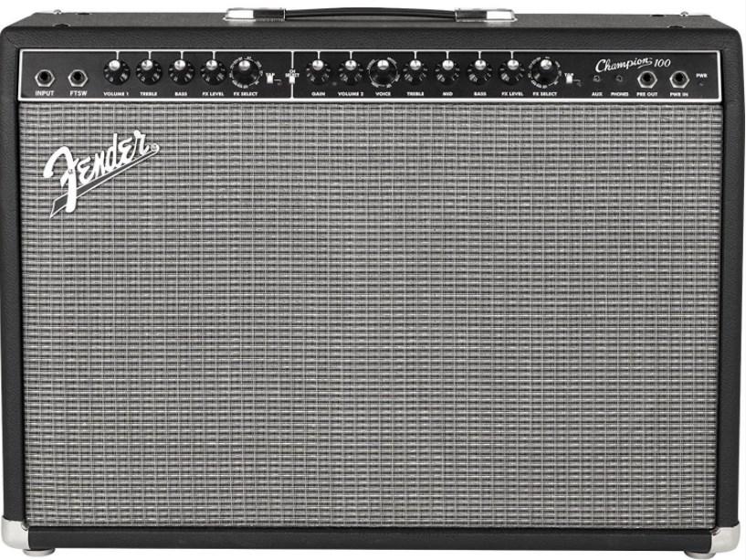 Усилитель для гитар Fender Champion 100