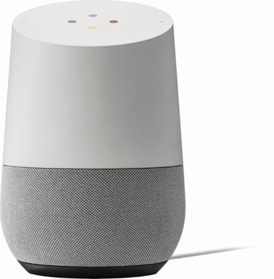 Портативная акустика Google Home Grey