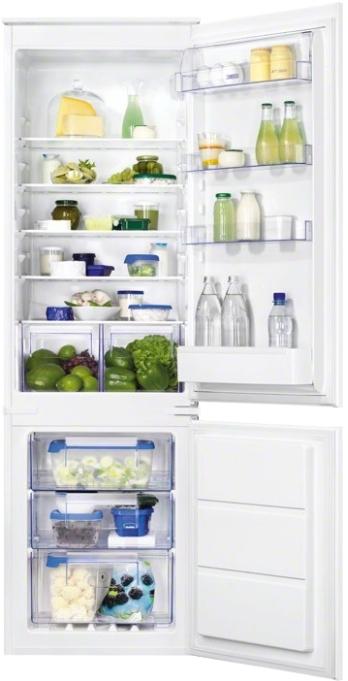Встраиваемый холодильник ZanussiZBB928651S