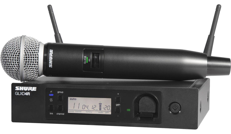 Радиосистема Shure GLXD24RE/SM58 Z2 2.4 GHz