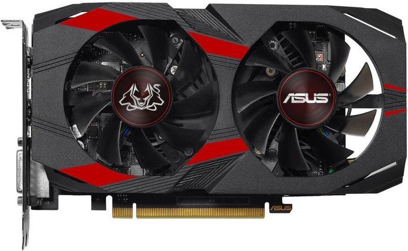 Видеокарта Asus GeForce GTX 1050 Ti Cerberus OC 4Gb