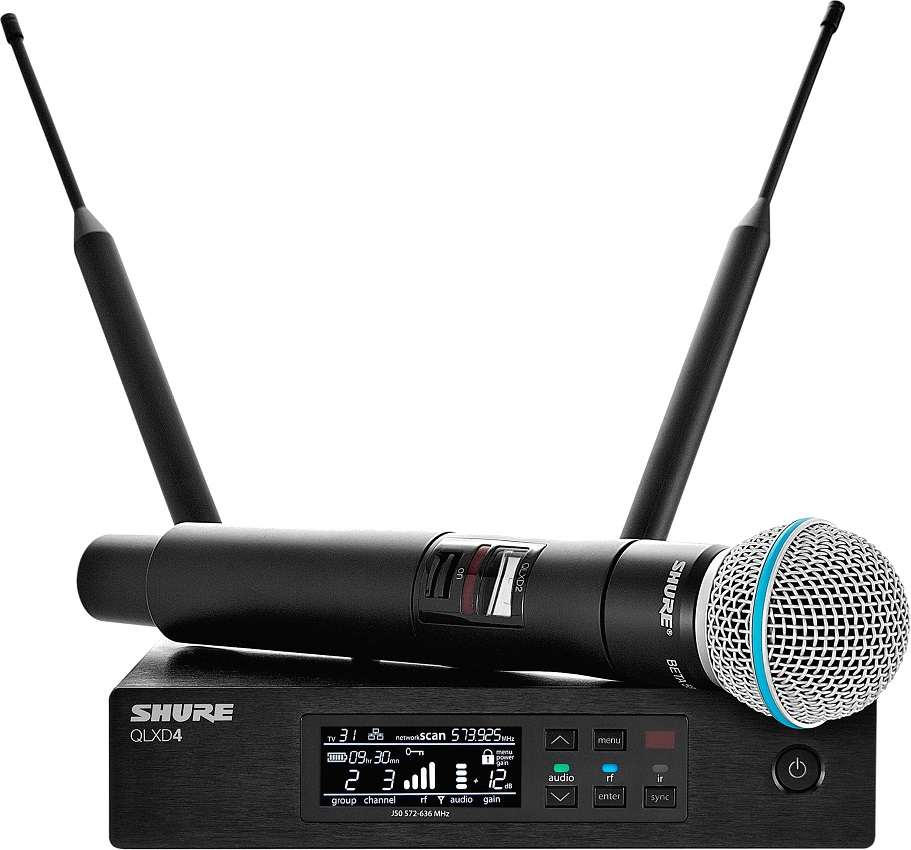 Цифровая радиосистема Shure QLXD24E/B58…