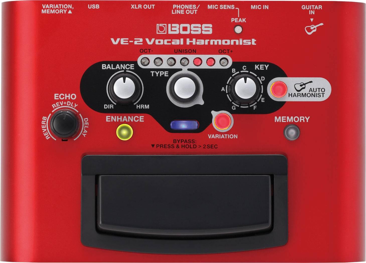 Прибор звуковой обработки Boss VE-2 Voc…