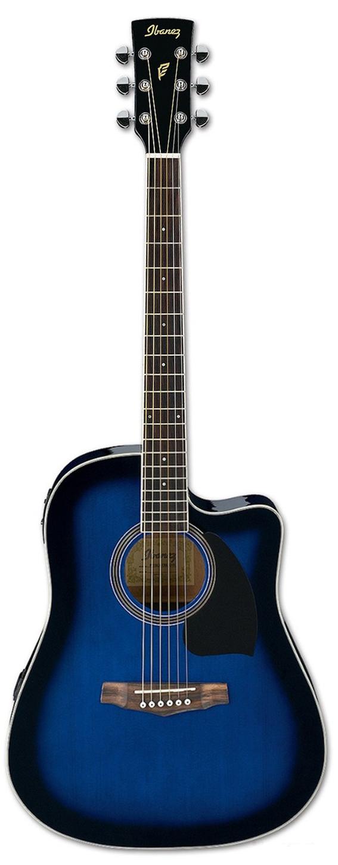 Акустическая гитара Ibanez PF15ECE-TBS
