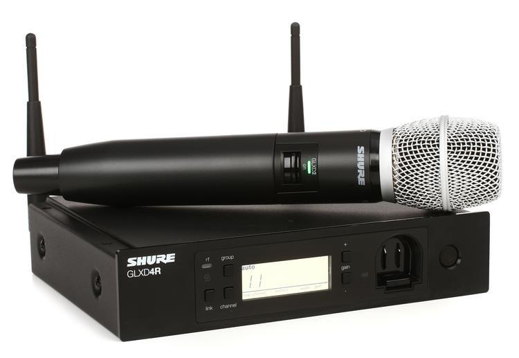 Цифровая радиосистема Shure GLXD2/SM86 …