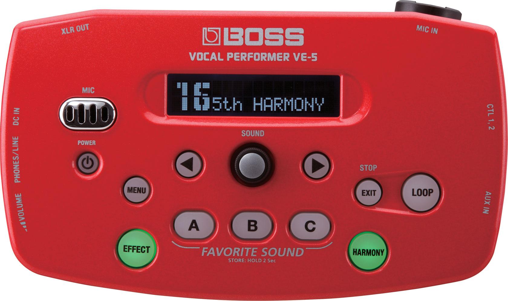 Прибор звуковой обработки Boss VE-5-RD