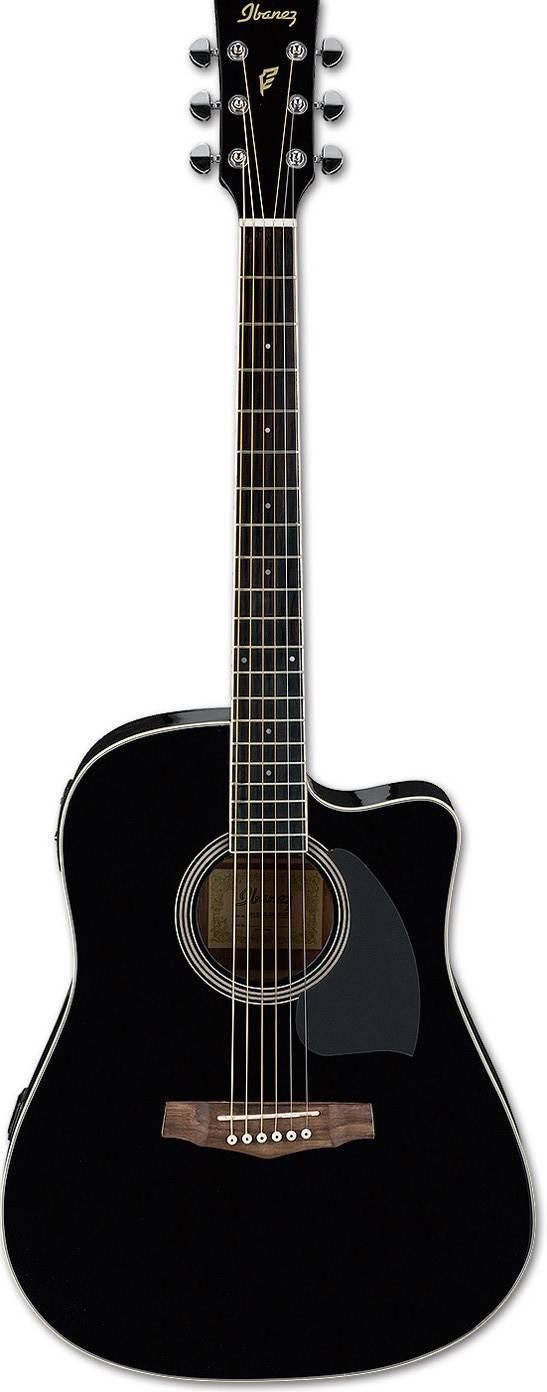 Акустическая гитара Ibanez PF15ECE-BK