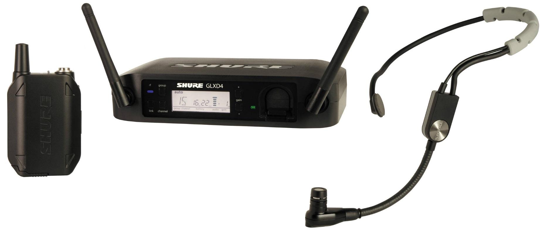 Цифровая радиосистема Shure GLXD14E/SM35