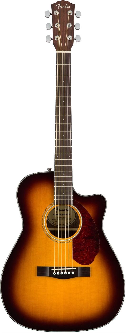 Акустическая гитара Fender CC-140SCE SB…