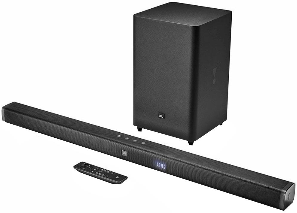 Акустическая система JBL Bar 2.1 Black