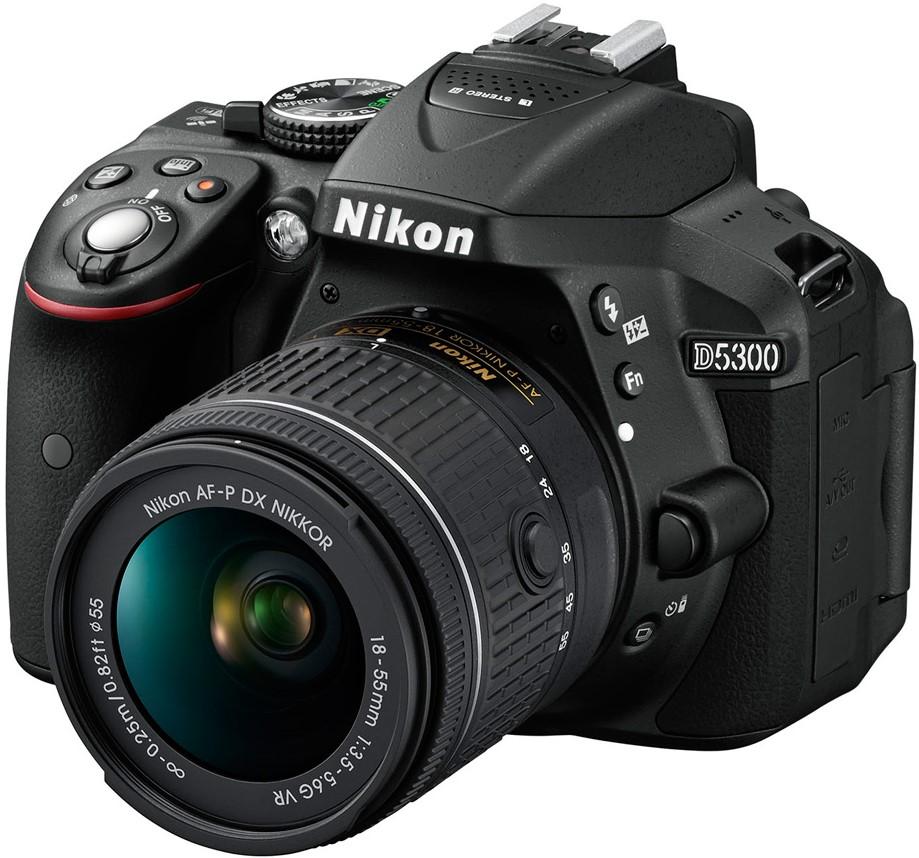 Фотоаппарат Nikon D5300 Kit  AF-P DX 18…