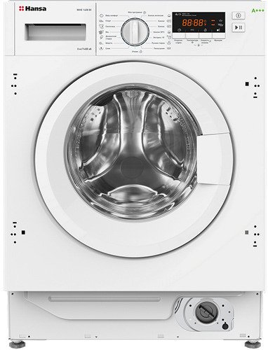 Встраиваемая стиральная машина Hansa WHE1408BI