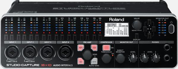 Звуковая карта Roland Studio-Capture UA-1610