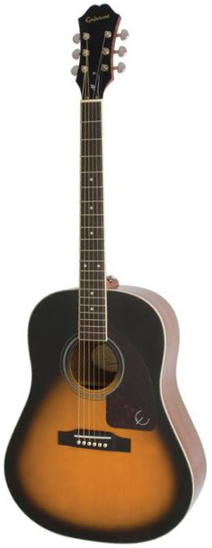 Акустическая гитара Epiphone AJ-220S Solid Top Acoustic Vintage Sunburst