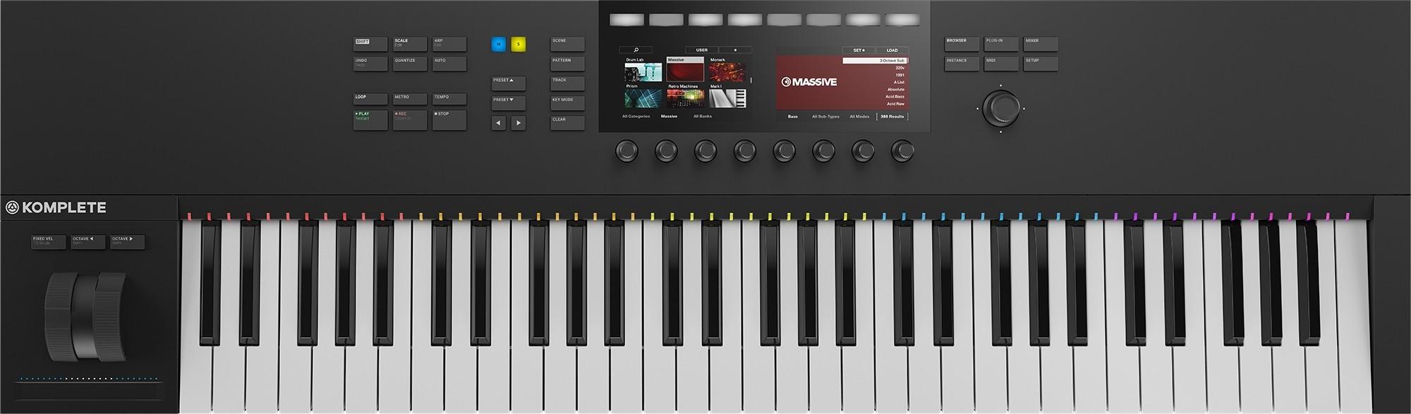 Миди-клавиатура Native Instruments Komplete Kontrol S61 Mk2