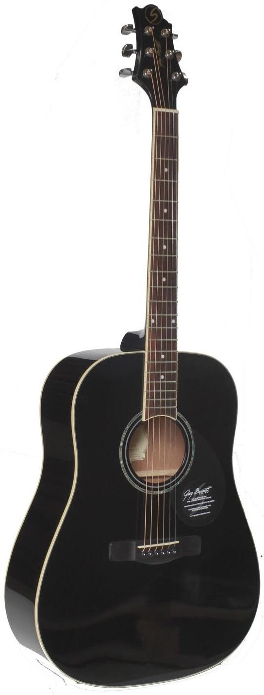Акустическая гитара Greg Bennett GD 101 S BK