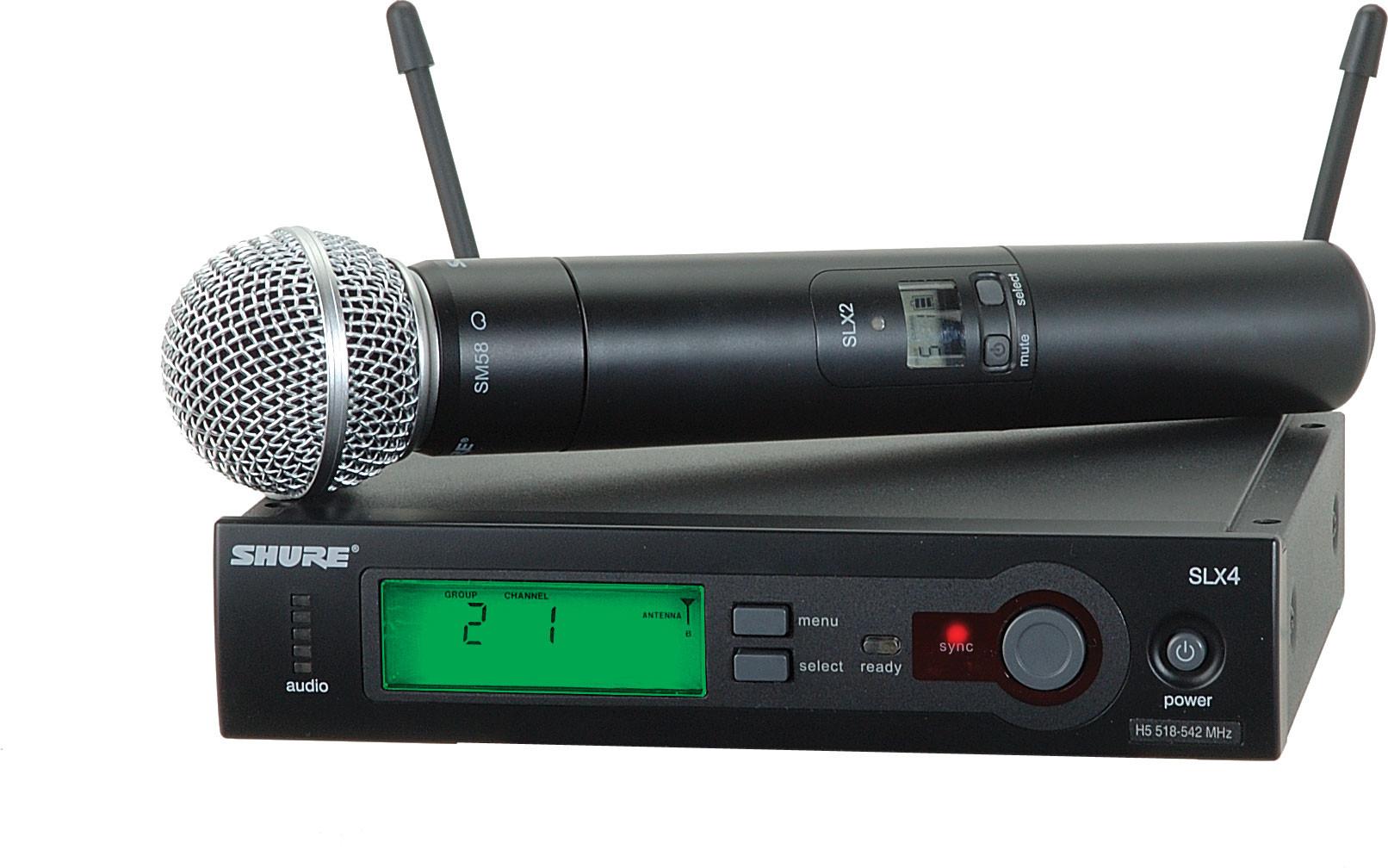 Радиосистема Shure SLX24E/SM58 P4