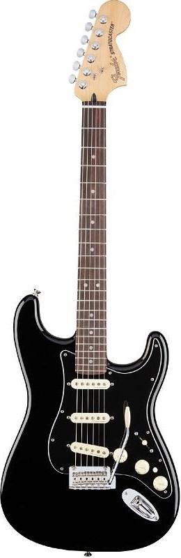 Электрогитара Fender Deluxe Strat PF BLK